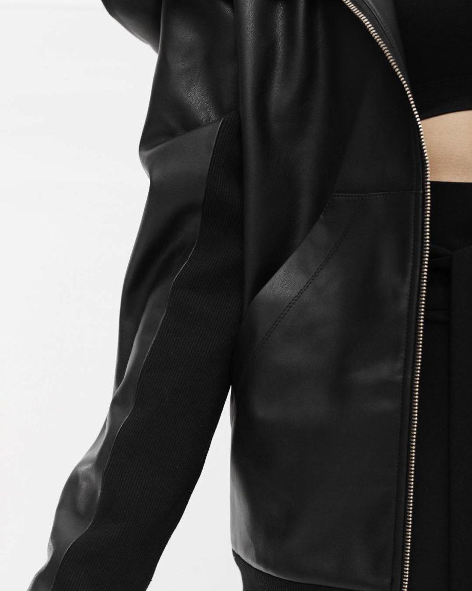 Куртка косуха из эко кожи